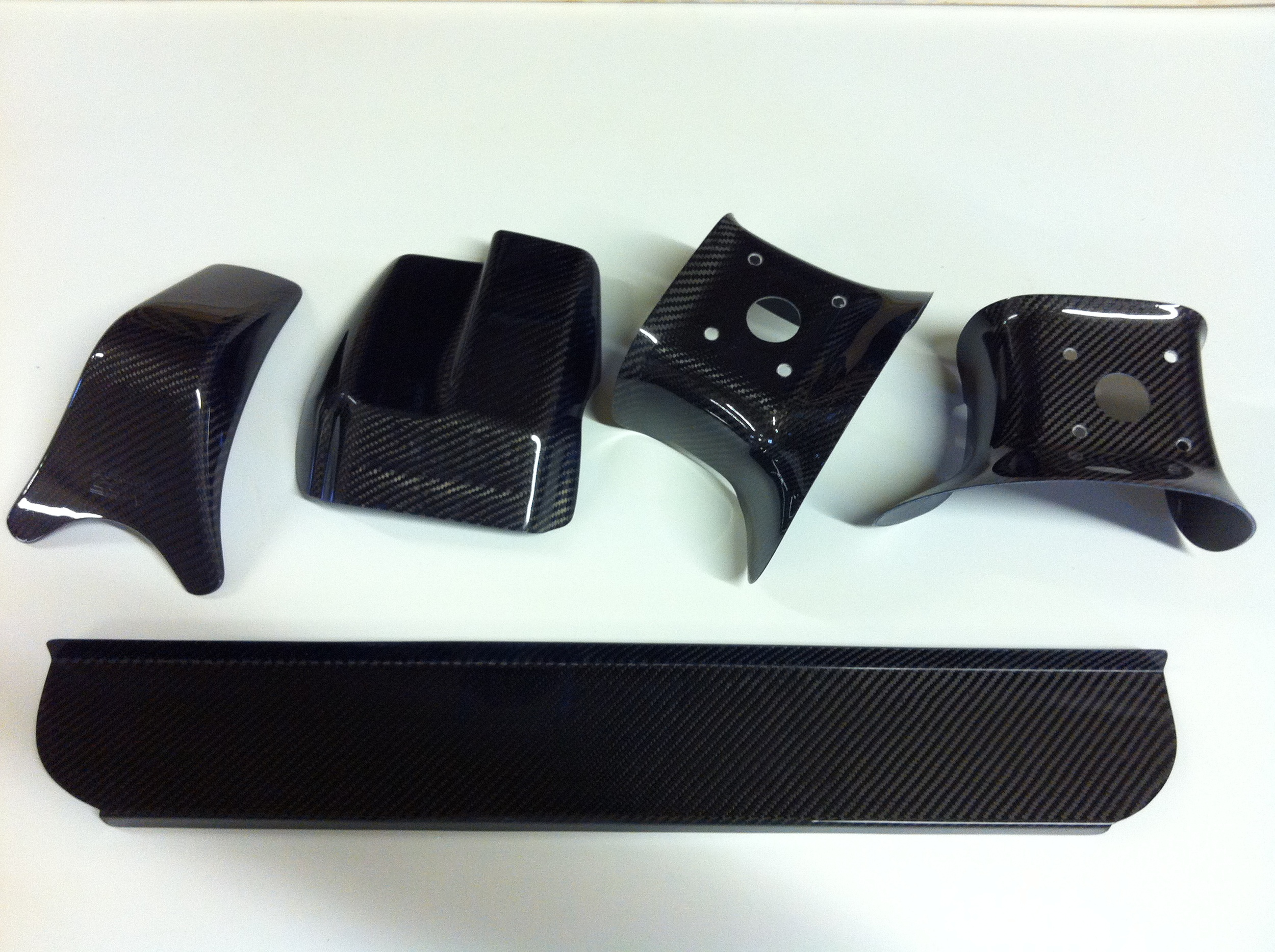 carbon products made by f-hot, ready for the dispatch department to package and send out.