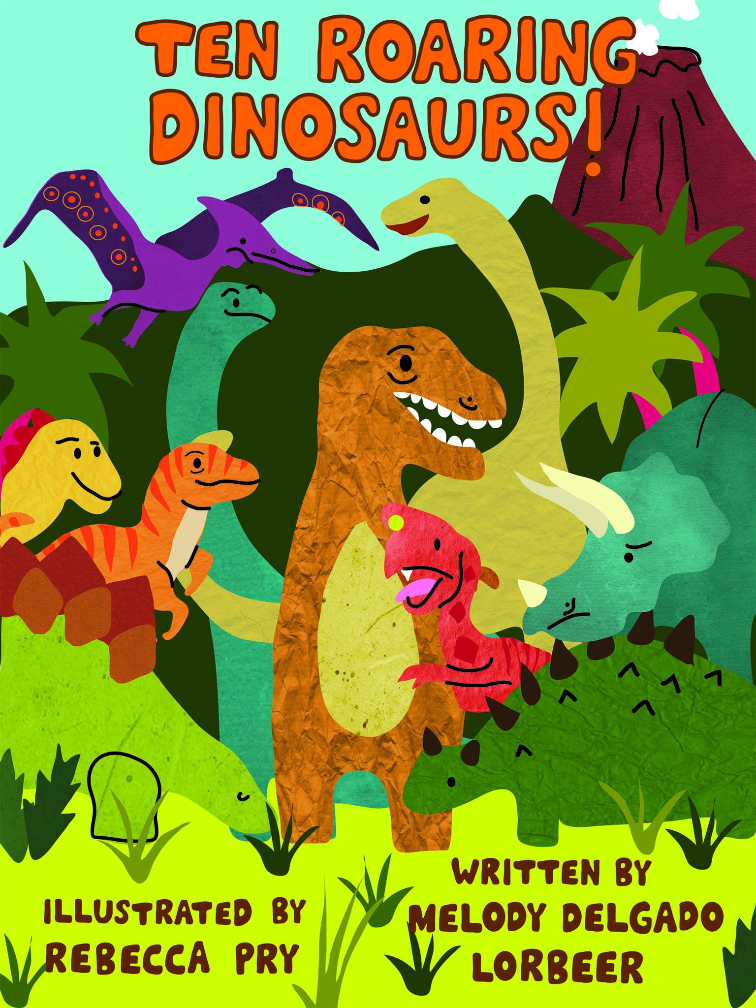 Ten Roaring Dinosaurs