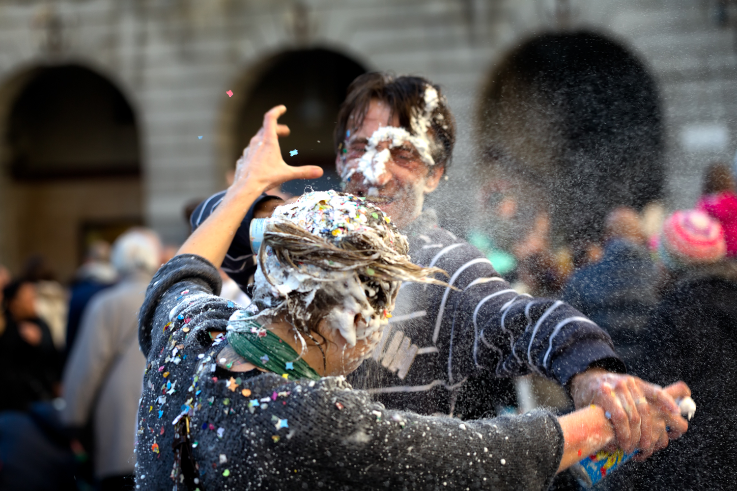 Spray Foam Fight