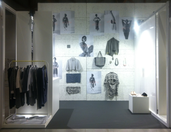 Our booth set up at ORIGIN: Passion & Beliefs in Vicenza, Italy.