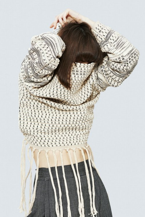 Weaving Hand Sweatshirt