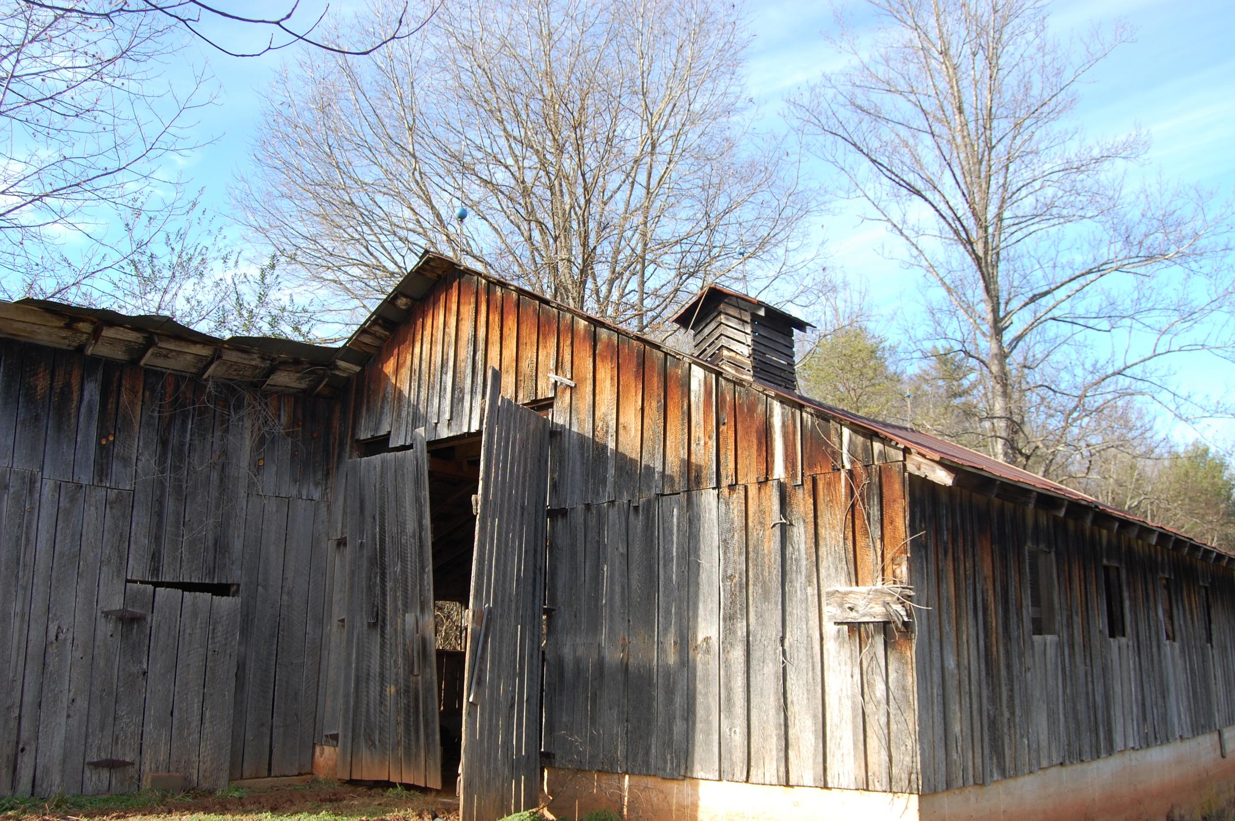 The dairy barn