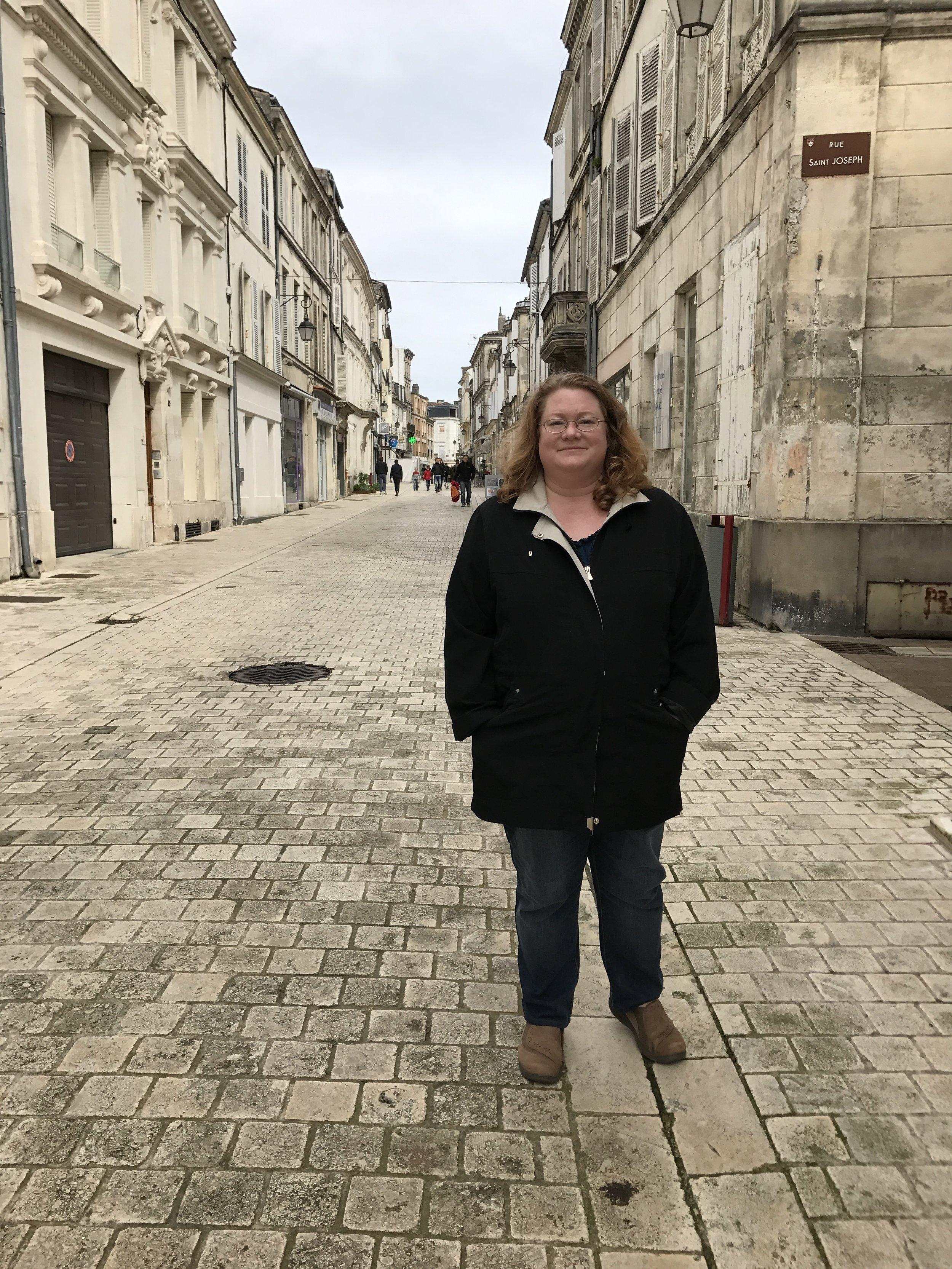 Dianne in Cognac