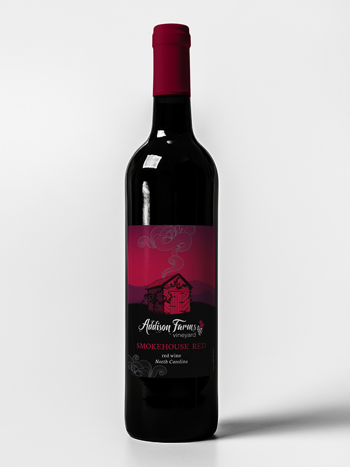 Smokehouse Red - 67% Sangiovese / 33% Chambourcin