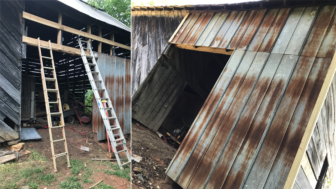 Modifying a 100+ year old barn for today's use