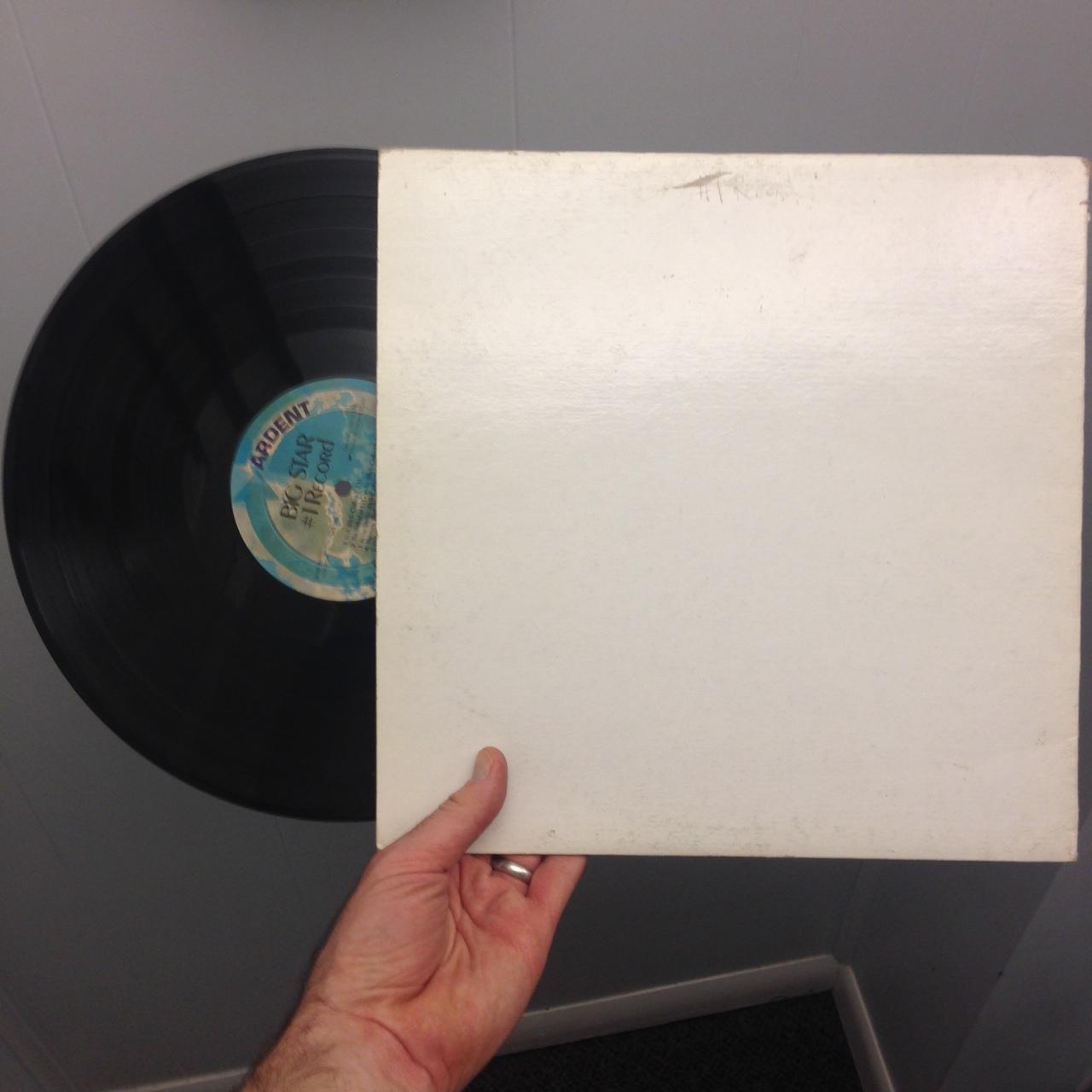 "my original copy of Big Star's ""#1 Record"""