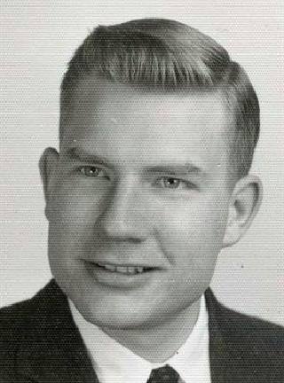 Jim Banner as a young man