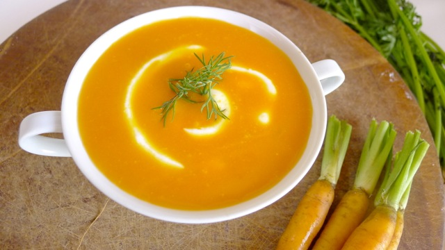 dill carrot soup