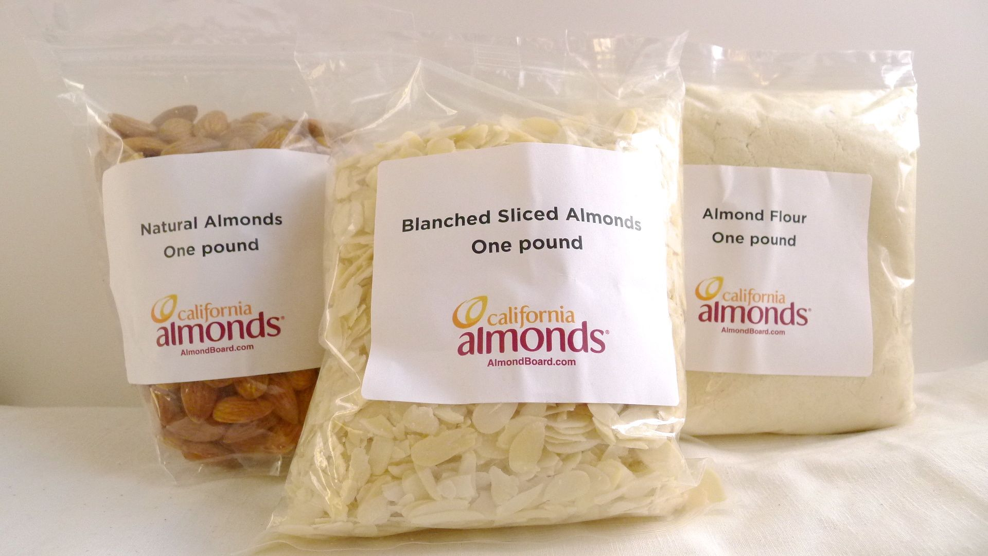 Almond giveaway, almond board of California