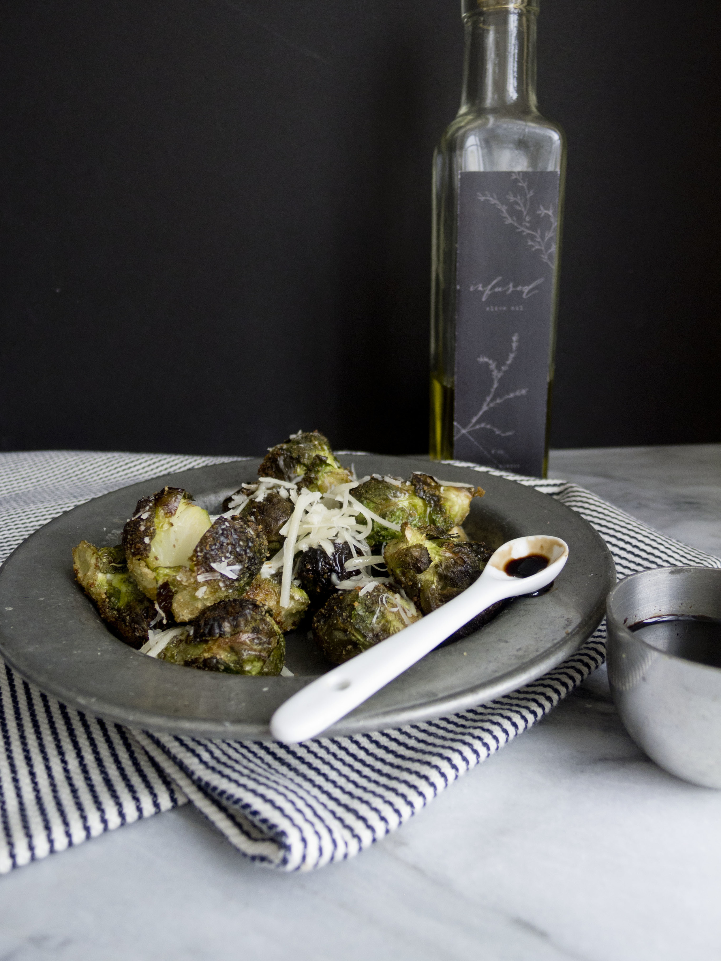 roasted brussels sprouts with cheese
