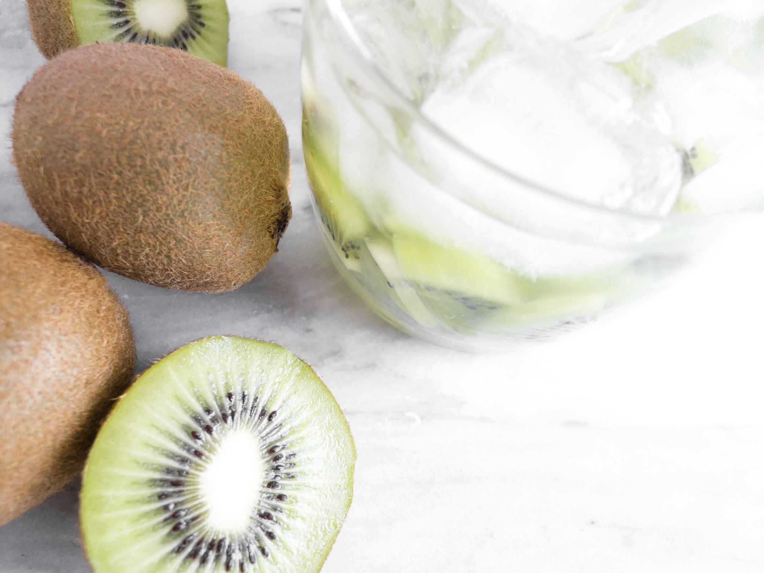 coconut kiwi muddle