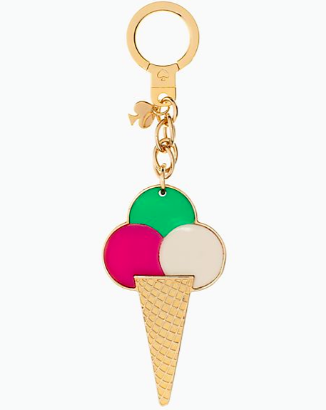Kate spade ice cream collection key fob