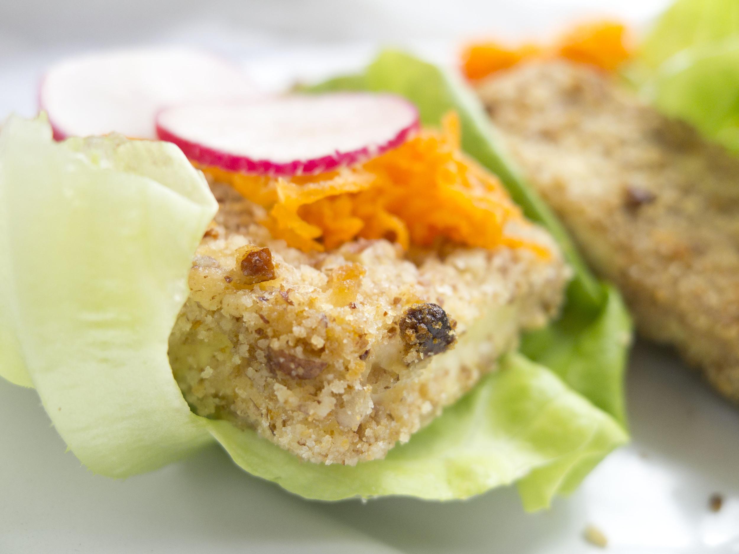 Pecan Crusted Tofu Nuggets