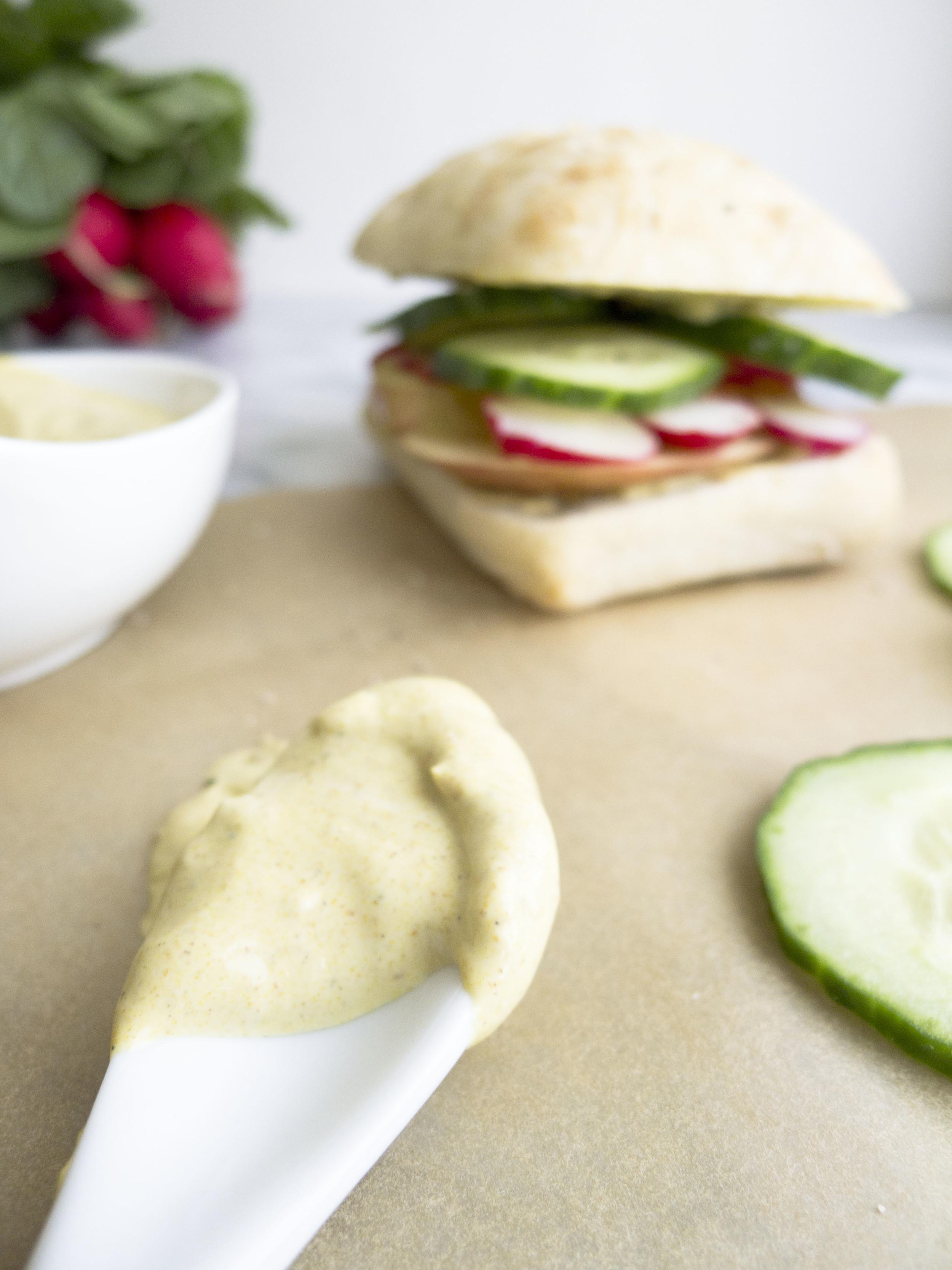 Spring Vegetarian Sandwich