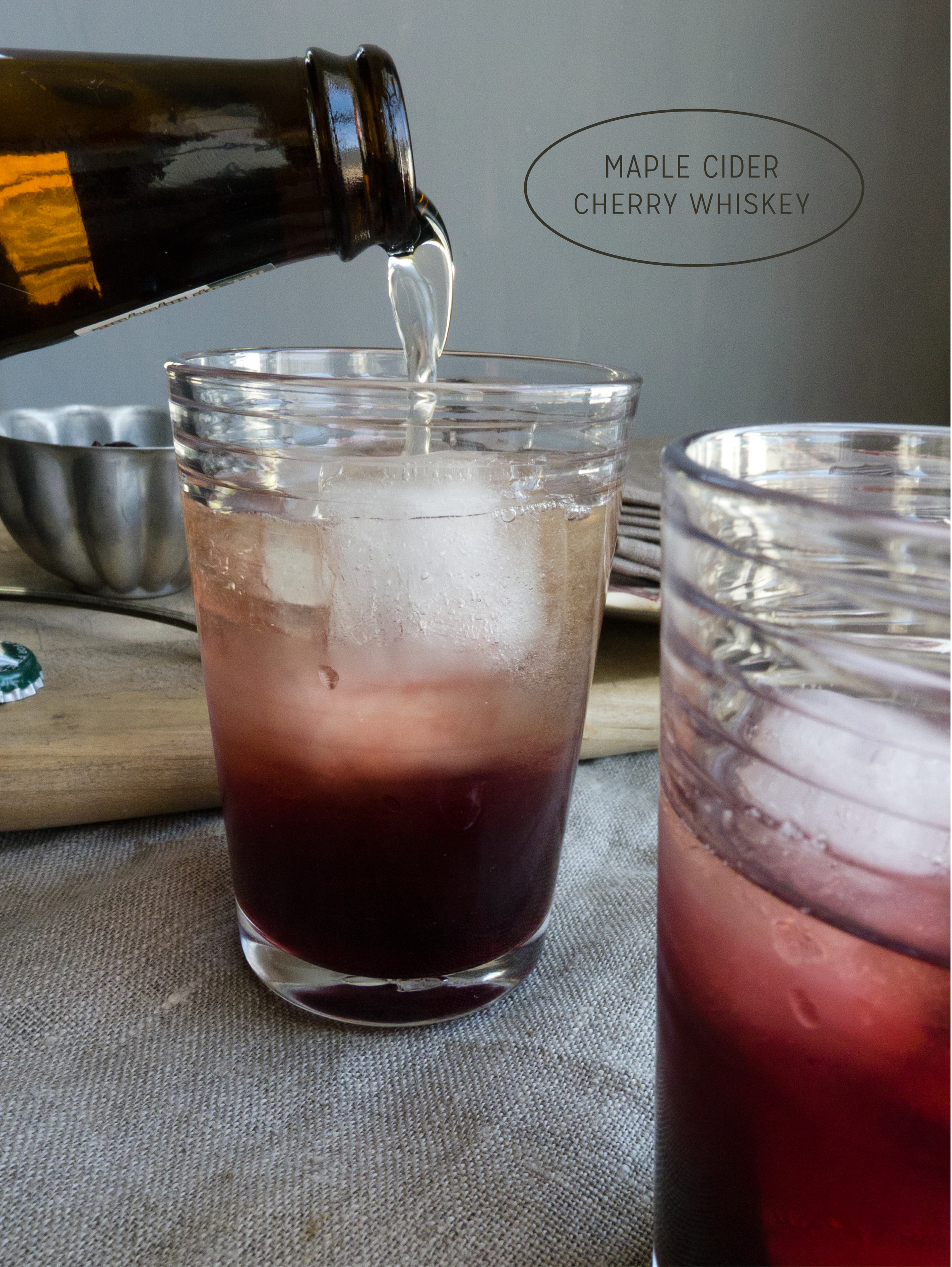 Healthier Weddings: Spring Cherry Cider Cocktail