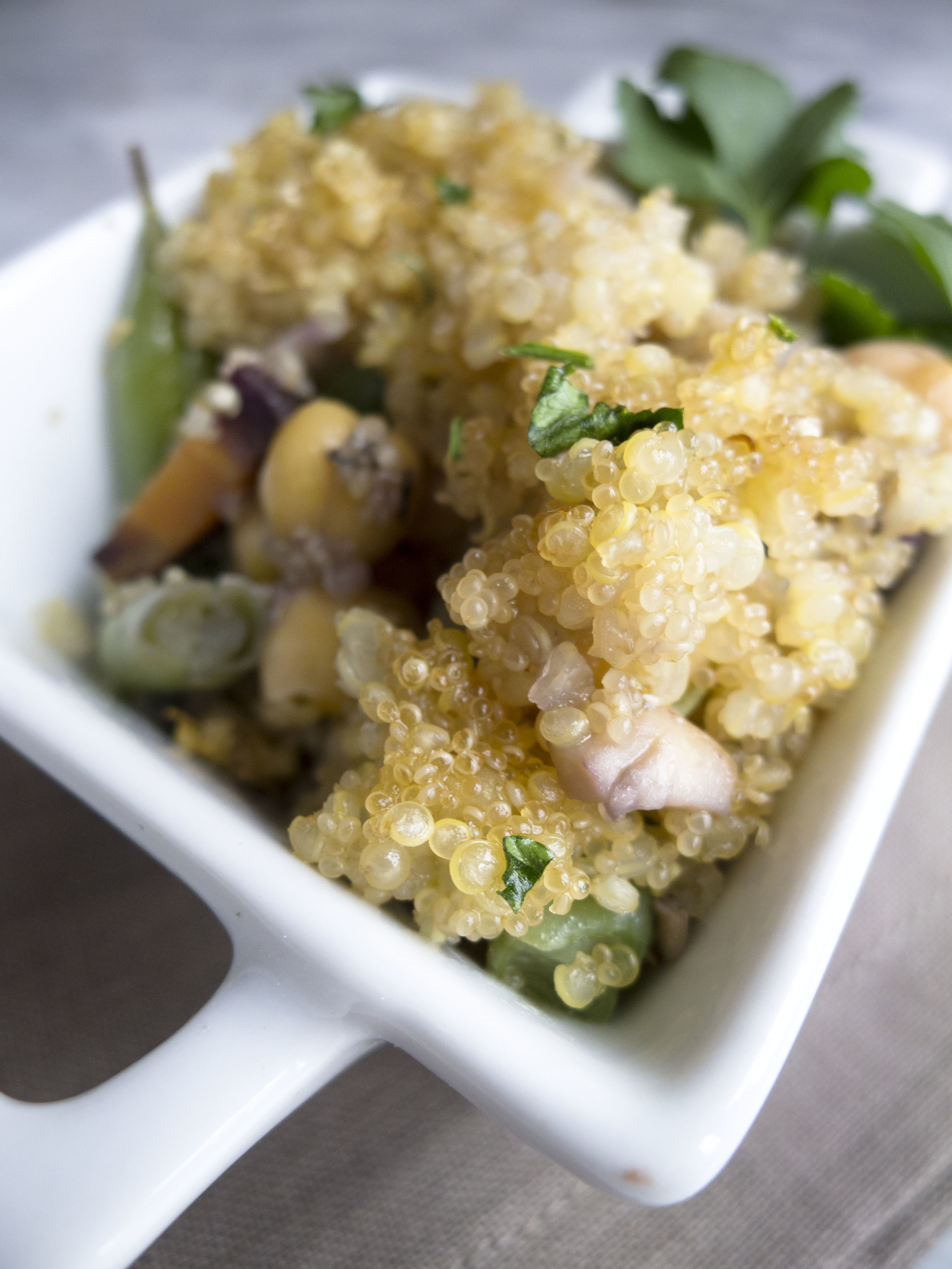Quinoa Amaranth Crust Veggie Pie