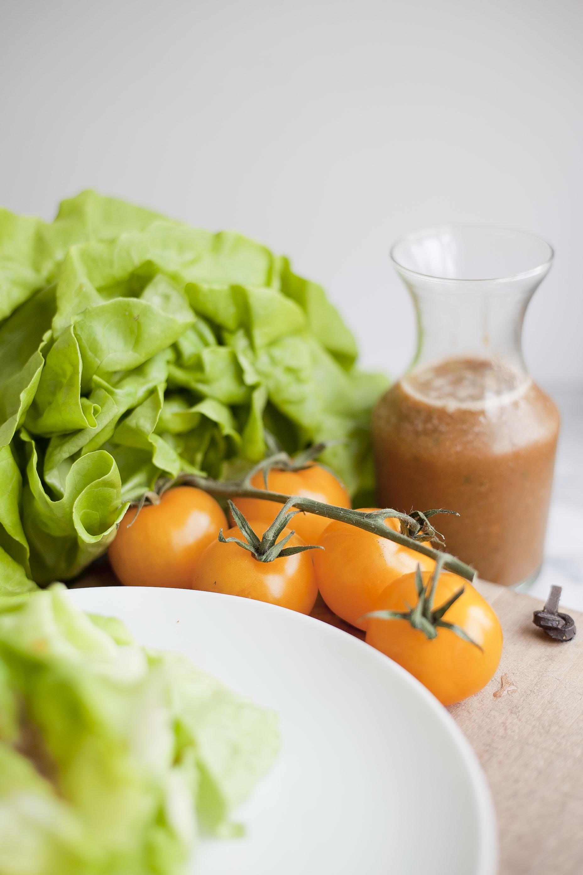 Zero Oil Salad Dressing