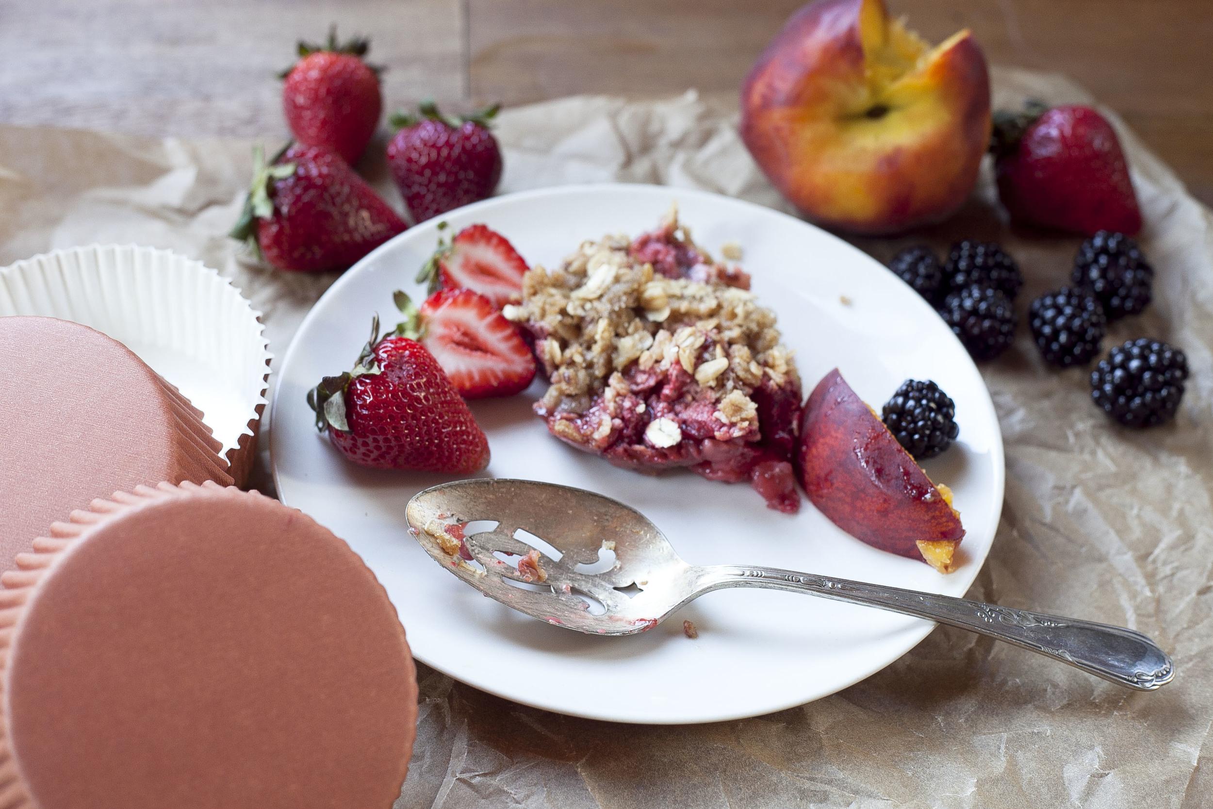 Healthy Signature Summer Crumble Recipe