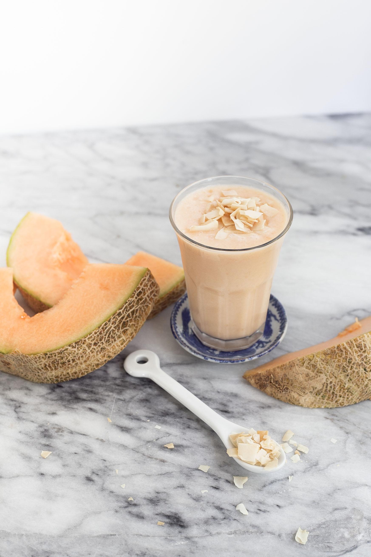 Cantaloupe Coconut Shake