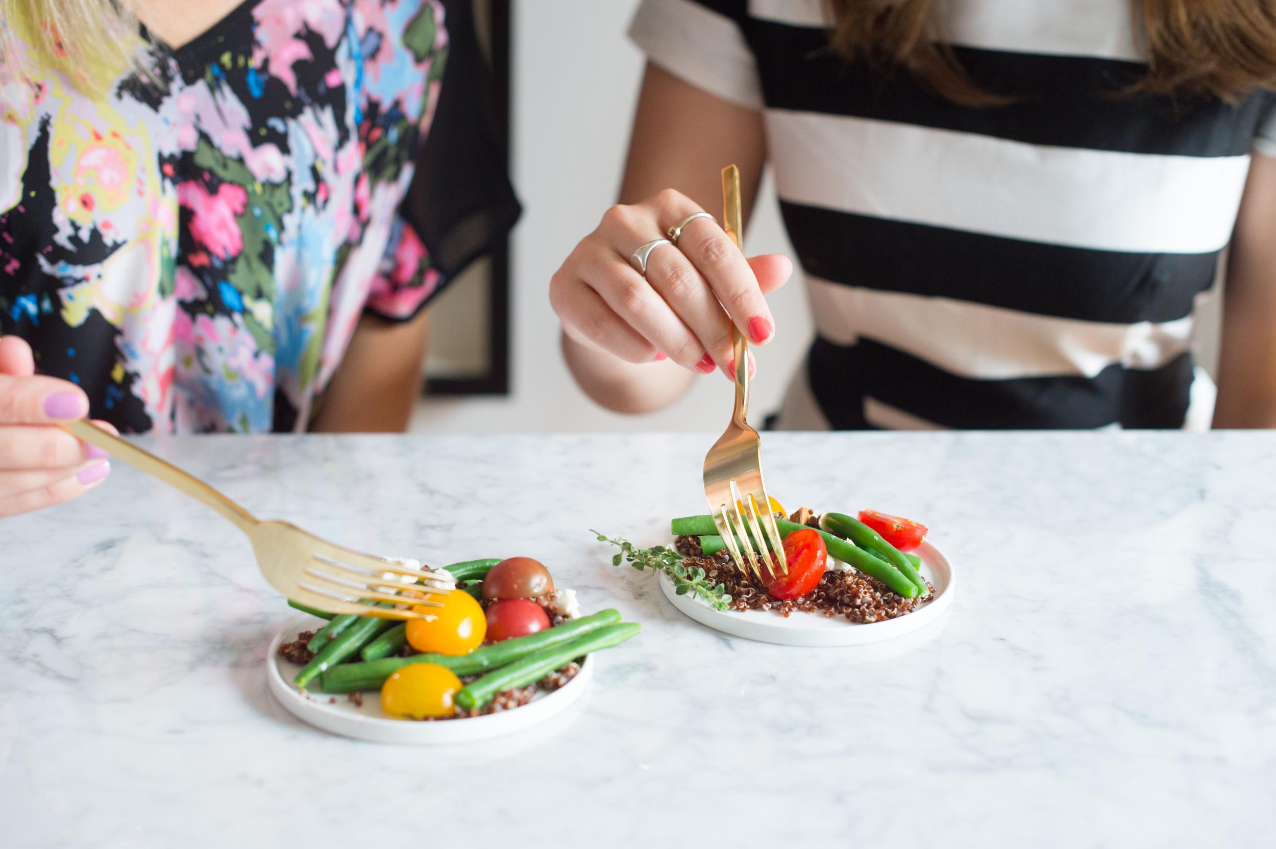 Green Bean Quinoa Salad: Cooking with Meg Biram