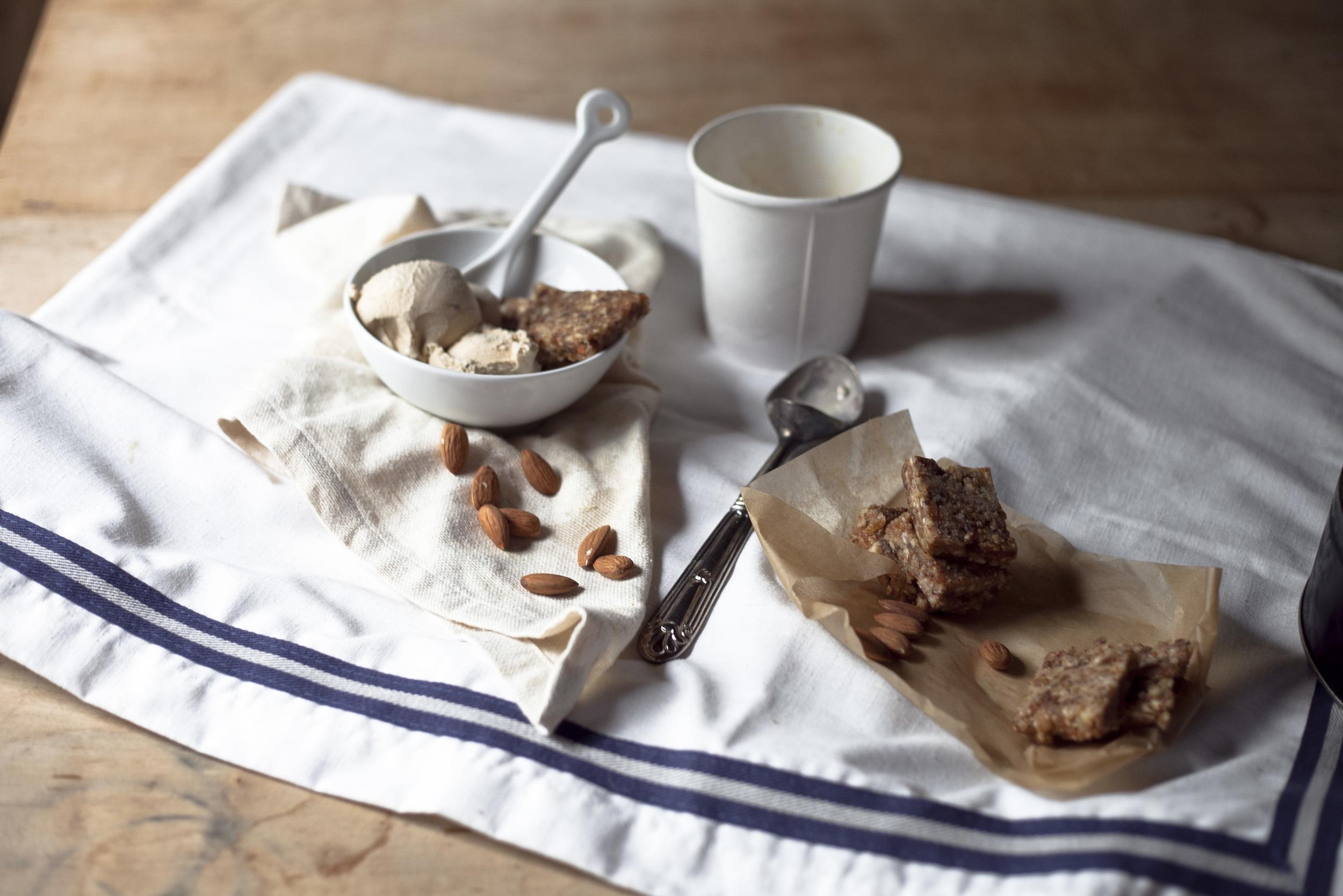 Cinnamon Sea Salt Energy Date Bars