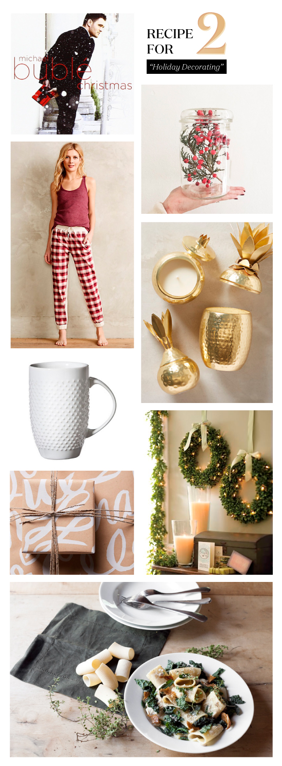 Recipe for Two: Holiday Decorating