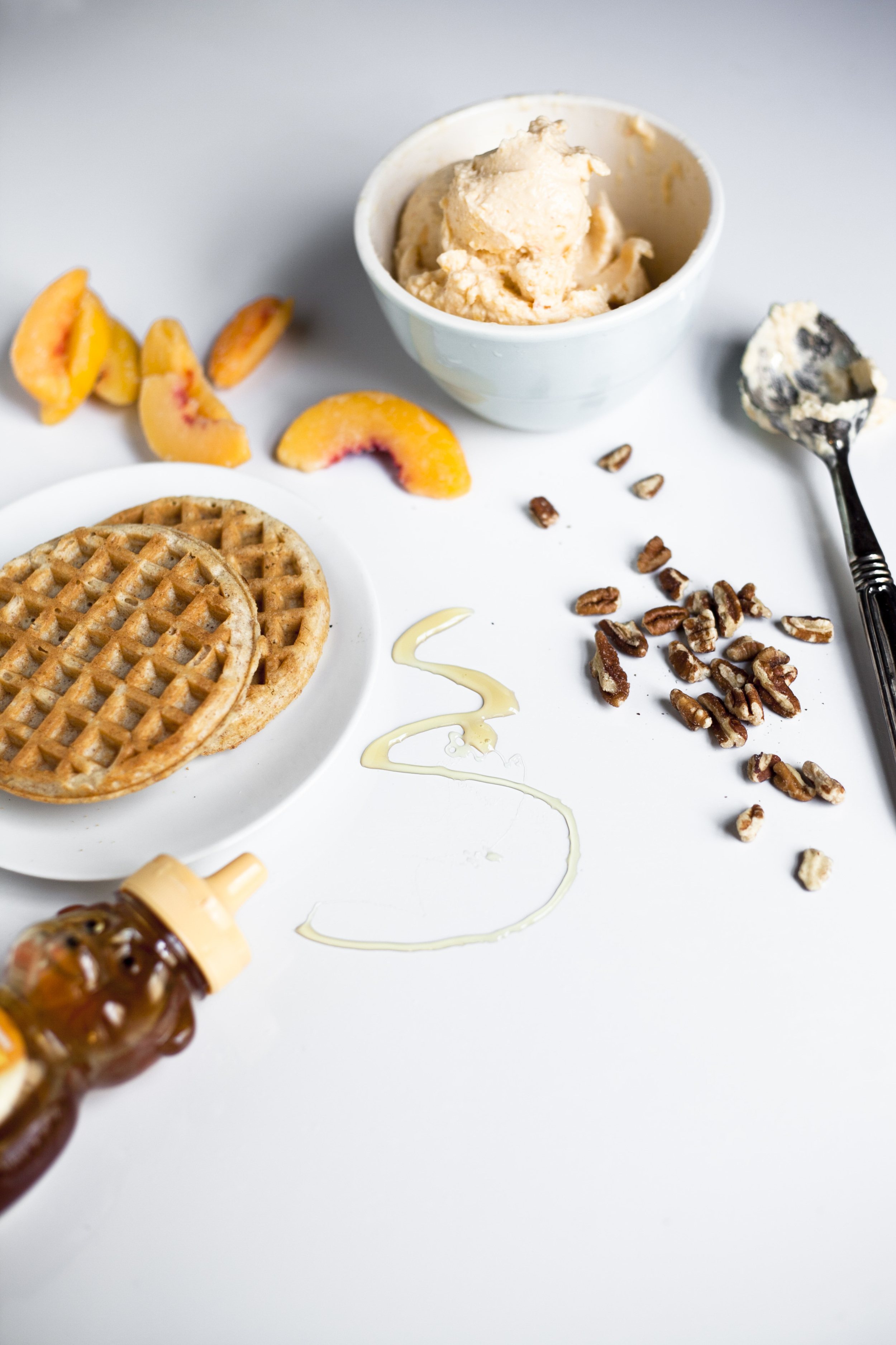 Healthy Southern Waffle Ice Cream SandwichHealthy Southern Waffle Ice Cream Sandwich