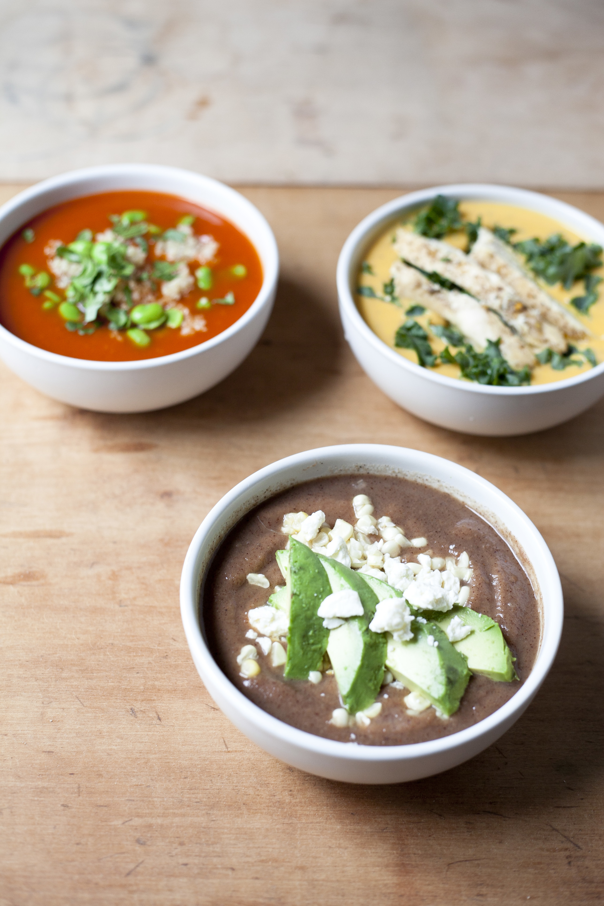 Healthy Easy Dinners: 3 Soups 3 Ways