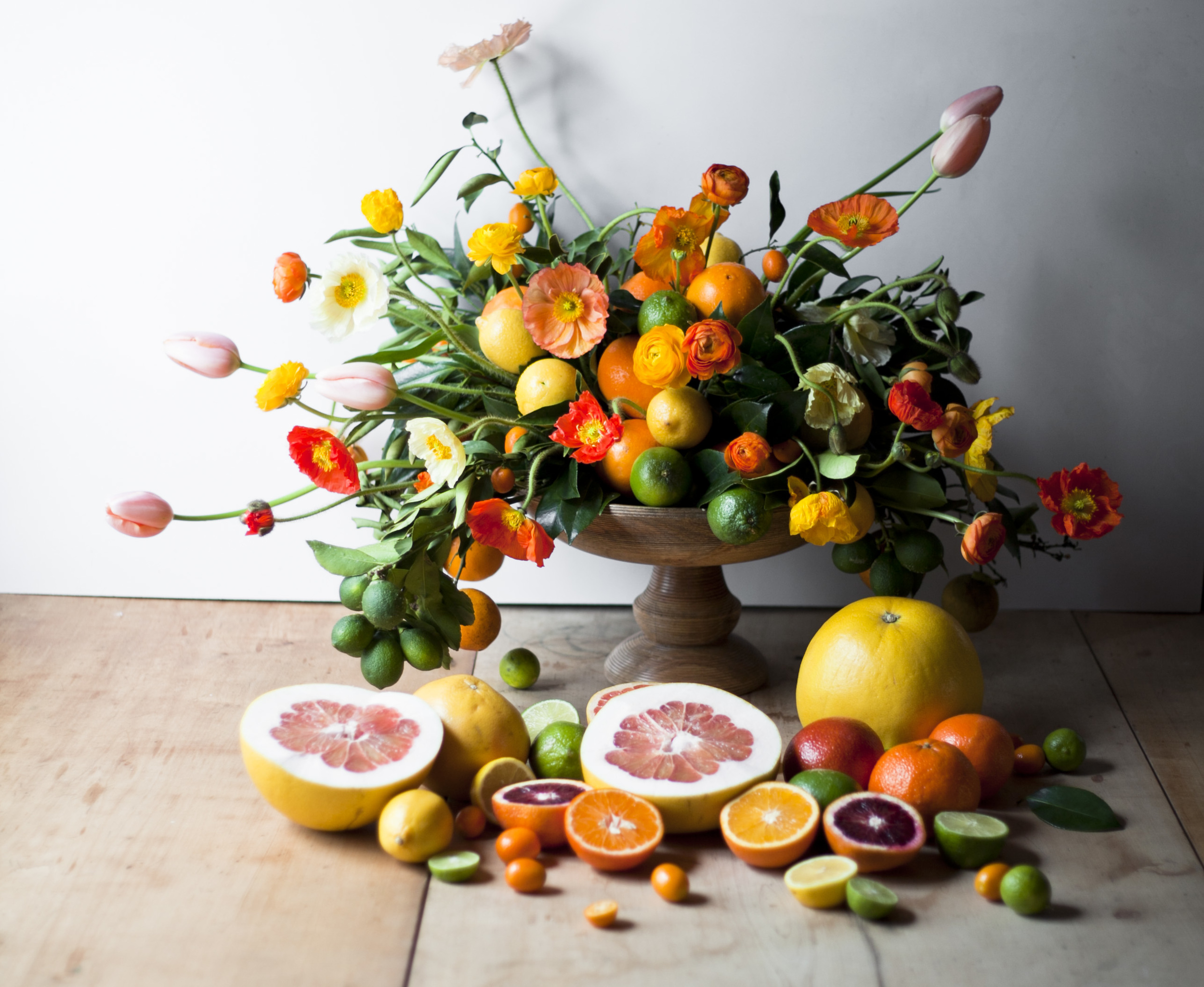 Styled Food Shoot: Winter Citrus