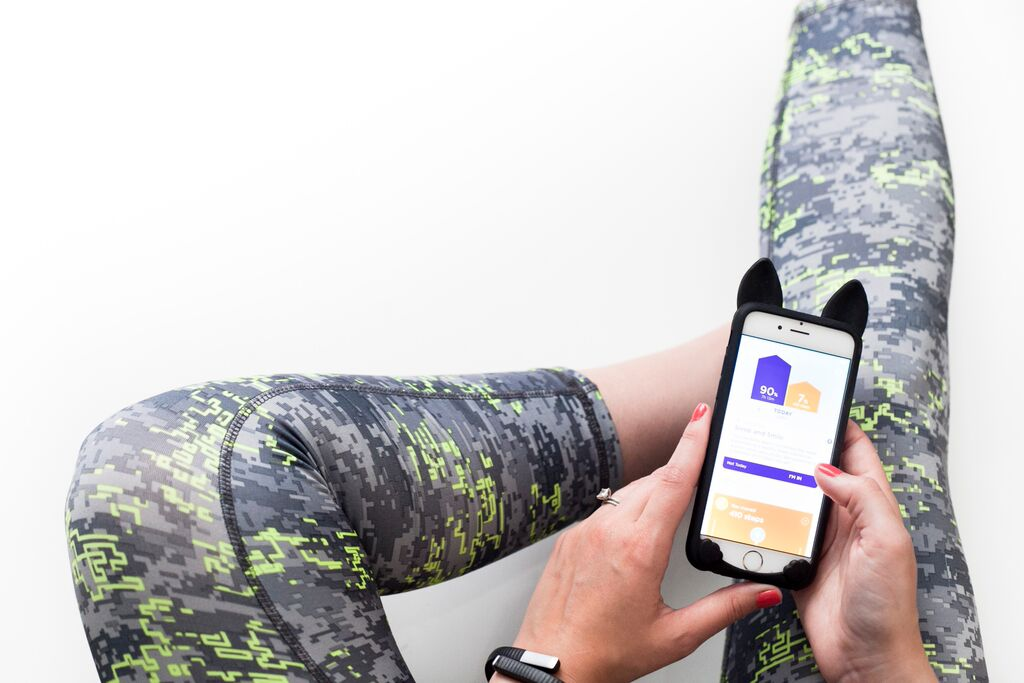 RBX Power Collection Capris  (c/o),  Jawbome Up 24  (c/o) and app,  iPhone 6 Cat case
