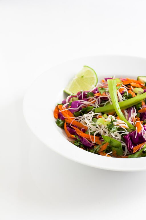 healthy asian cabbage salad