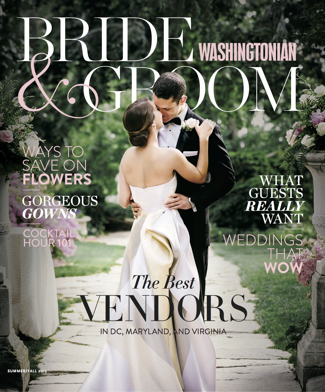 Healthfully Ever After in Washingtonian Bride and Groom Magazine