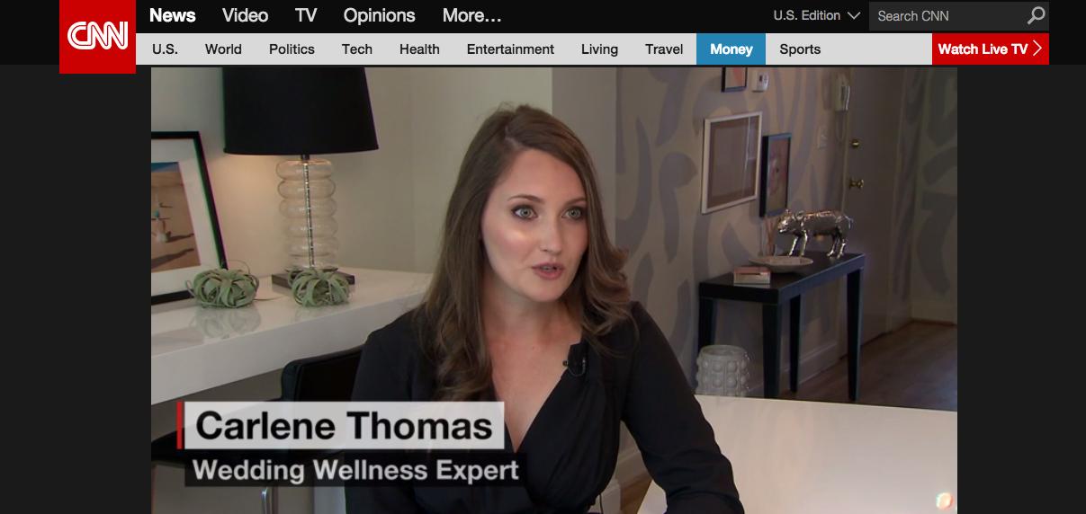 carlene thomas healthfully ever after, wedding diet