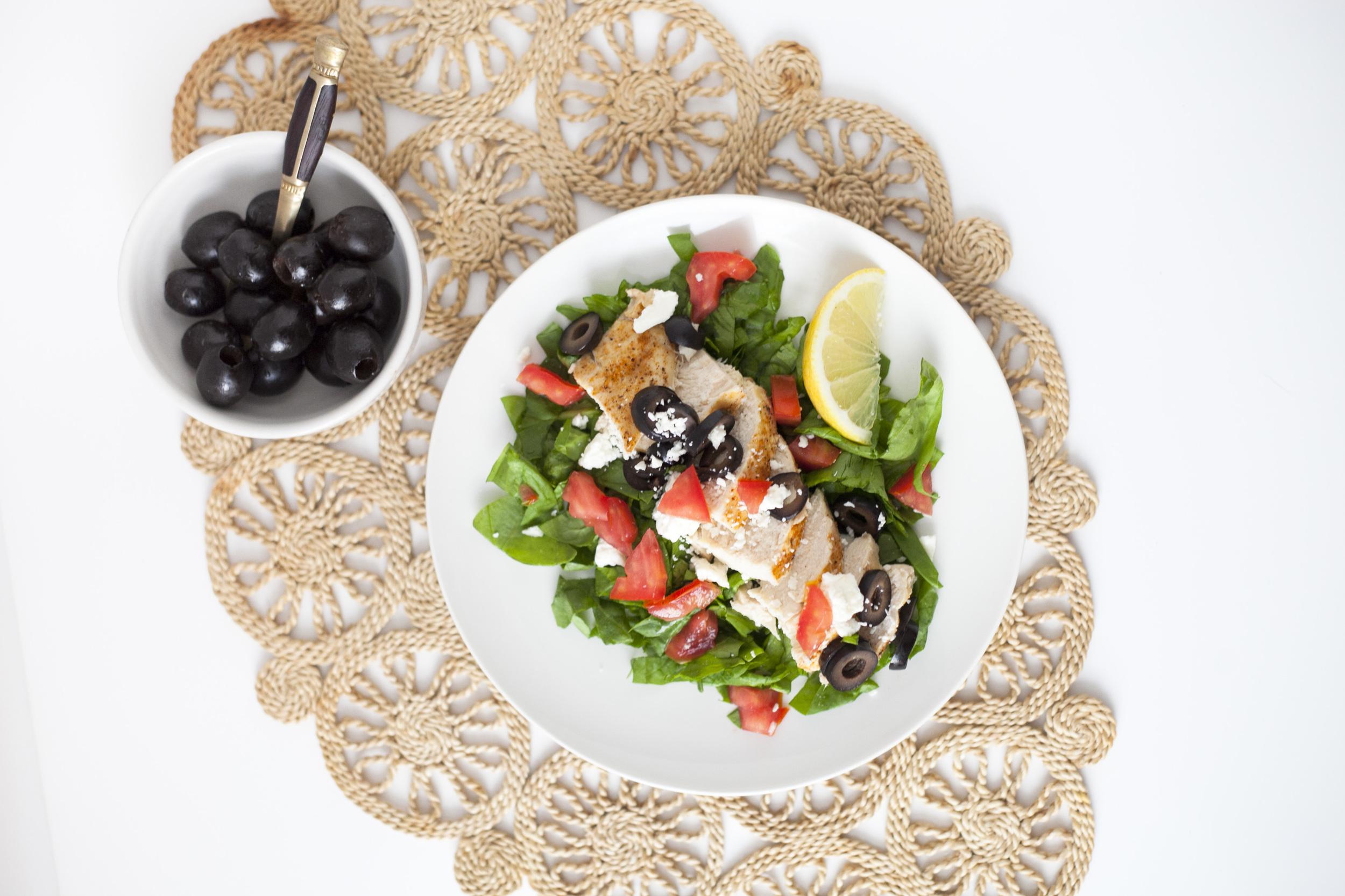 Healthy Dinner Recipe | Easy Lemon Mediterranean Chicken
