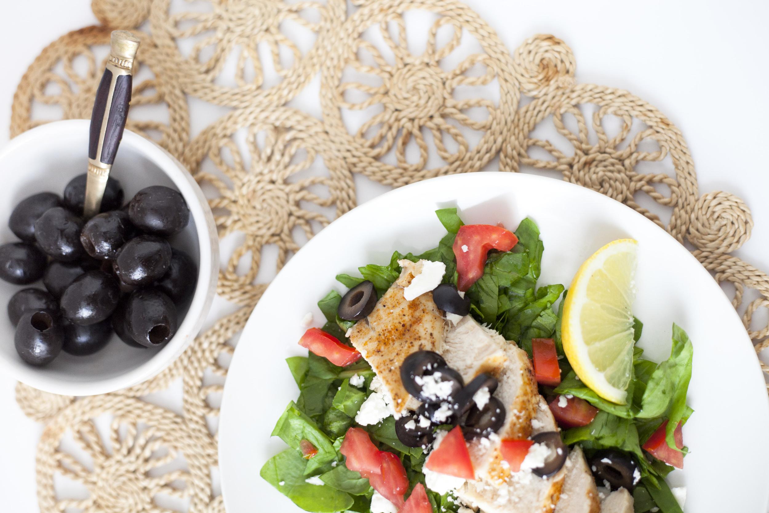 Healthy Dinner Recipe | Easy Lemon Olive Mediterranean Chicken