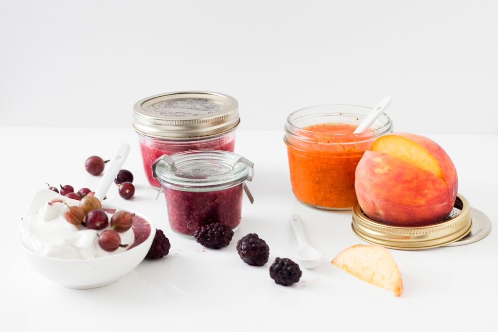 Chia Jam Recipe : No Cooking Required, 3 Flavors