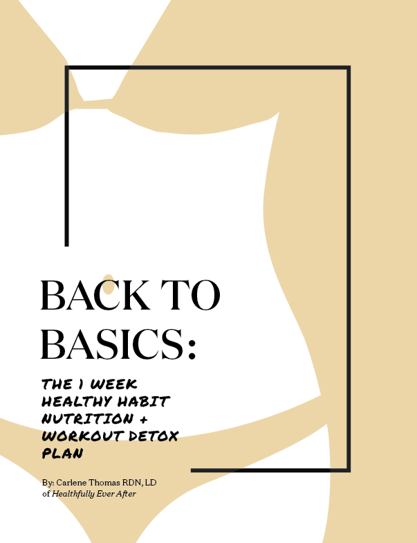 back to basics ebook: the one week healthy habit, nutrition and workout detox plan
