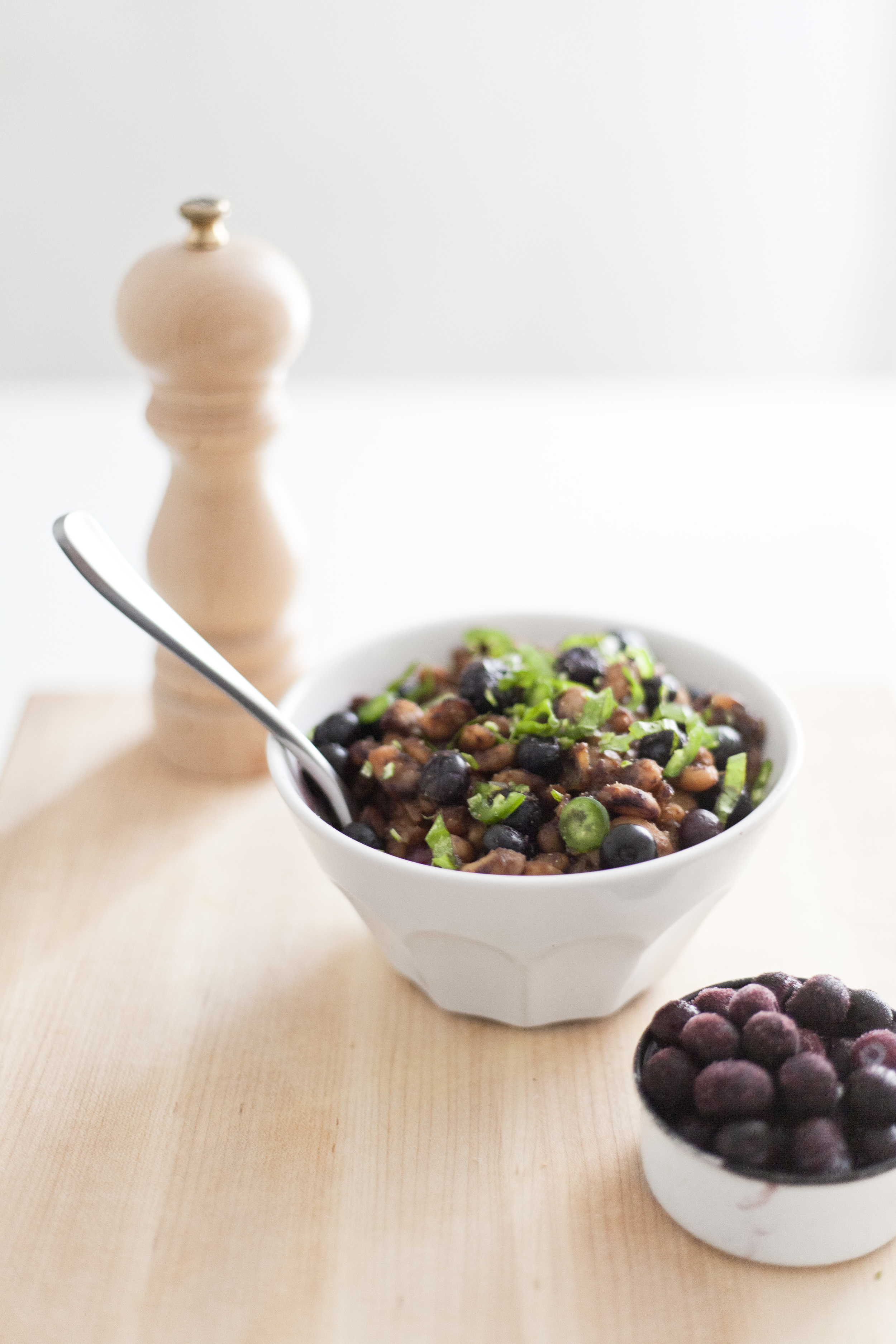 Healthy Blueberry Baked Beans