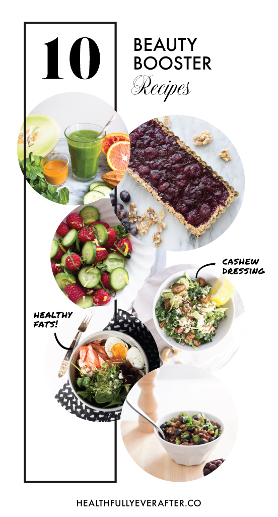 beauty booster foods, nutrition