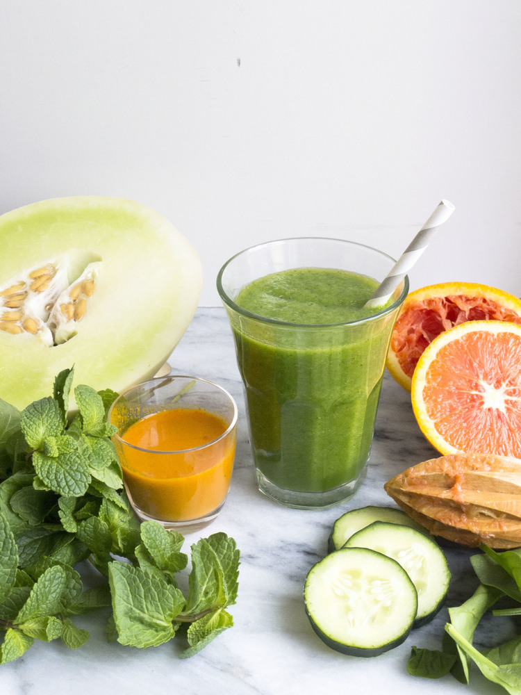 Green and Bright Smoothie