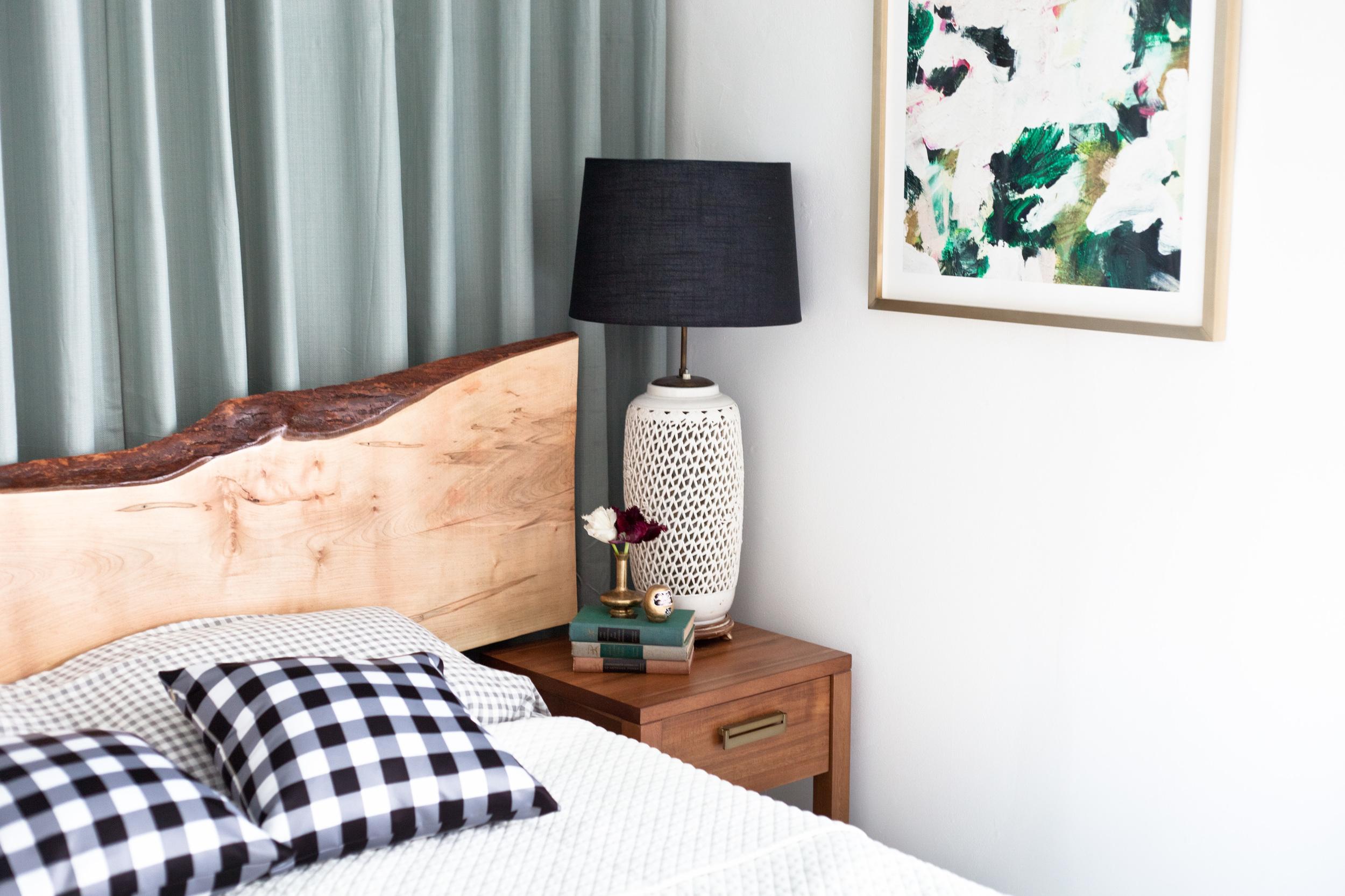 Minimalist Master Bedroom Reveal: Simplified Garden