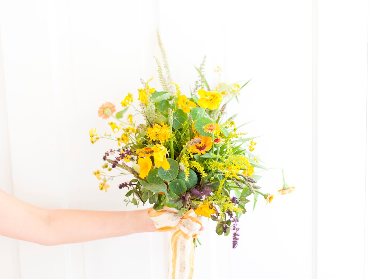 Food Network Feature: Food in Flowers