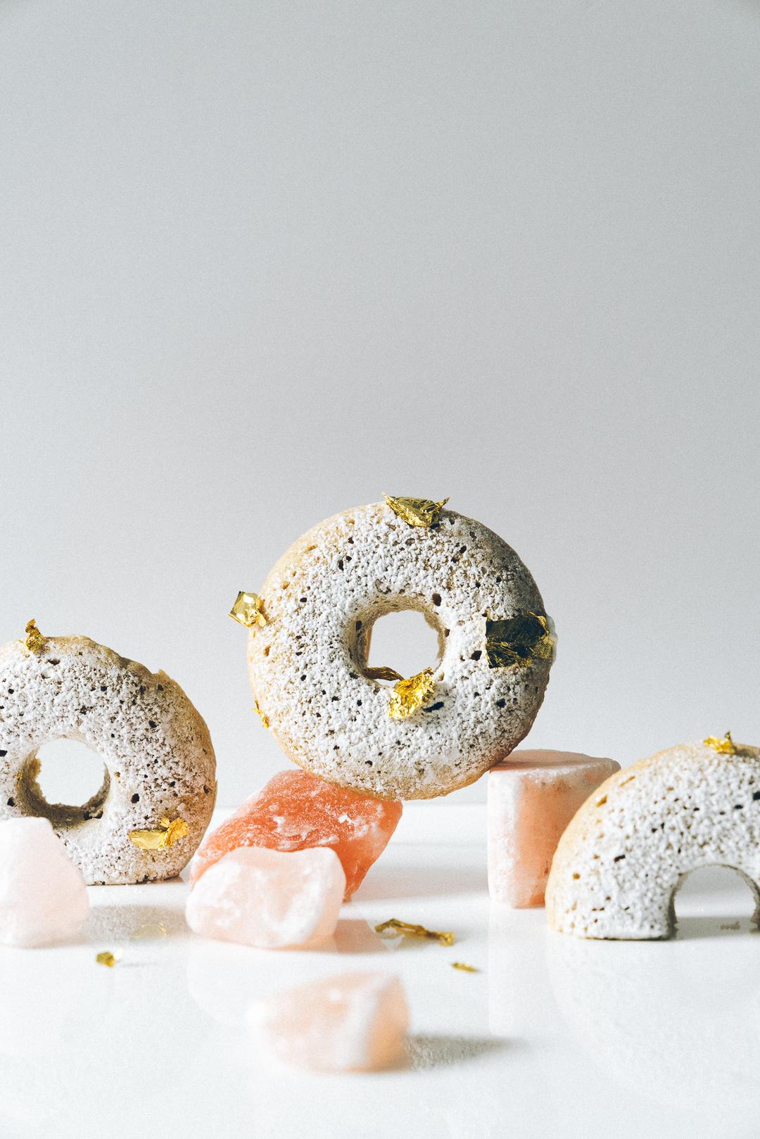 Earl Grey Quinoa Doughnuts