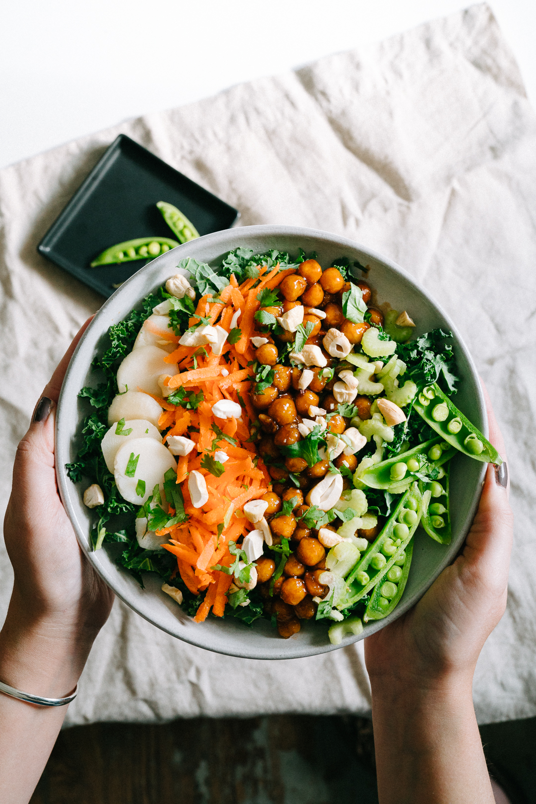 Sweet and Sour Chickpea Bowl