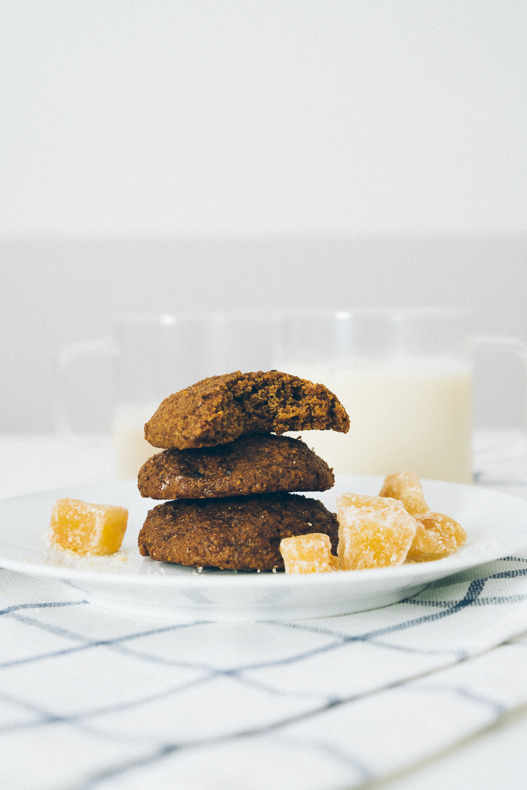 Triple Ginger Oatmeal Cookies