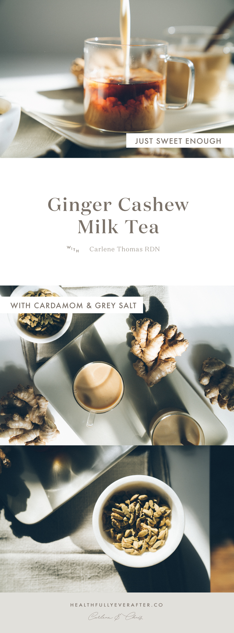 Late November 2016 Menu cashew tea