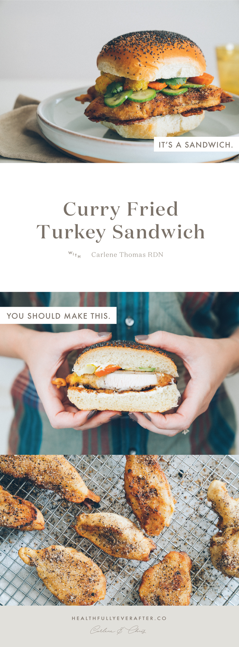 Late November 2016 Menu sous vide fried turkey sandwich
