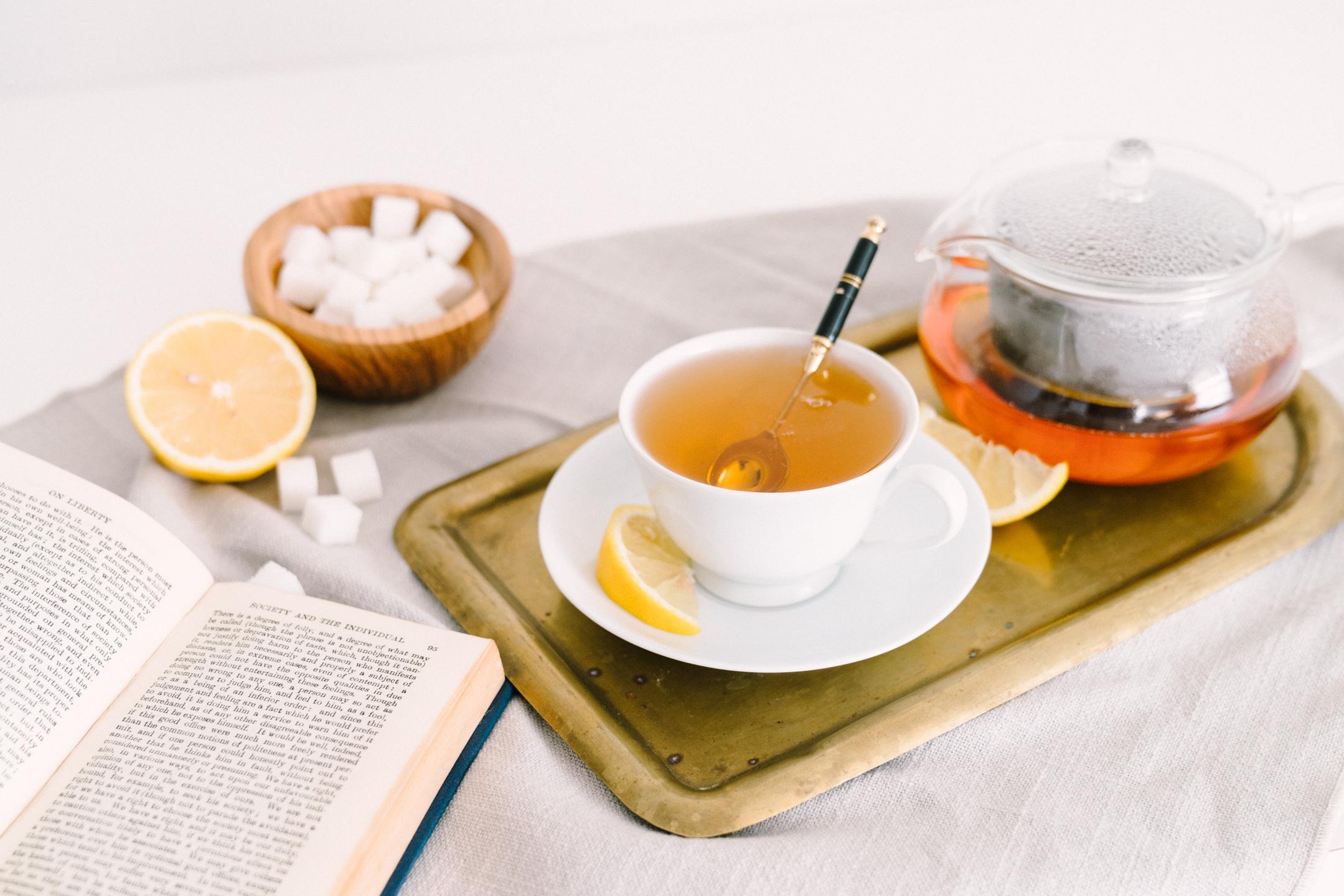 national hot tea day: wellness challenge healthier drinks