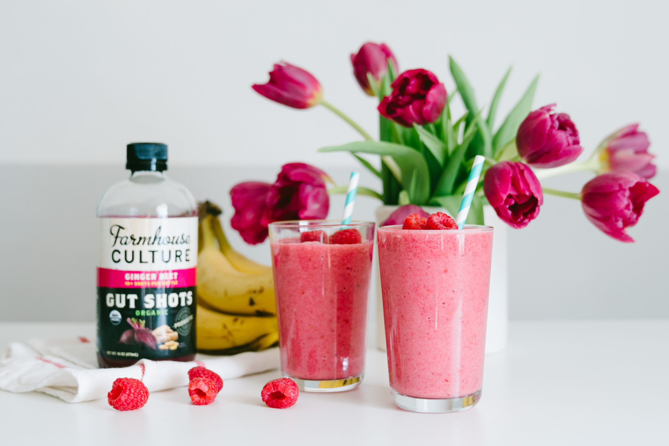 raspberry beet probiotic smoothie recipe