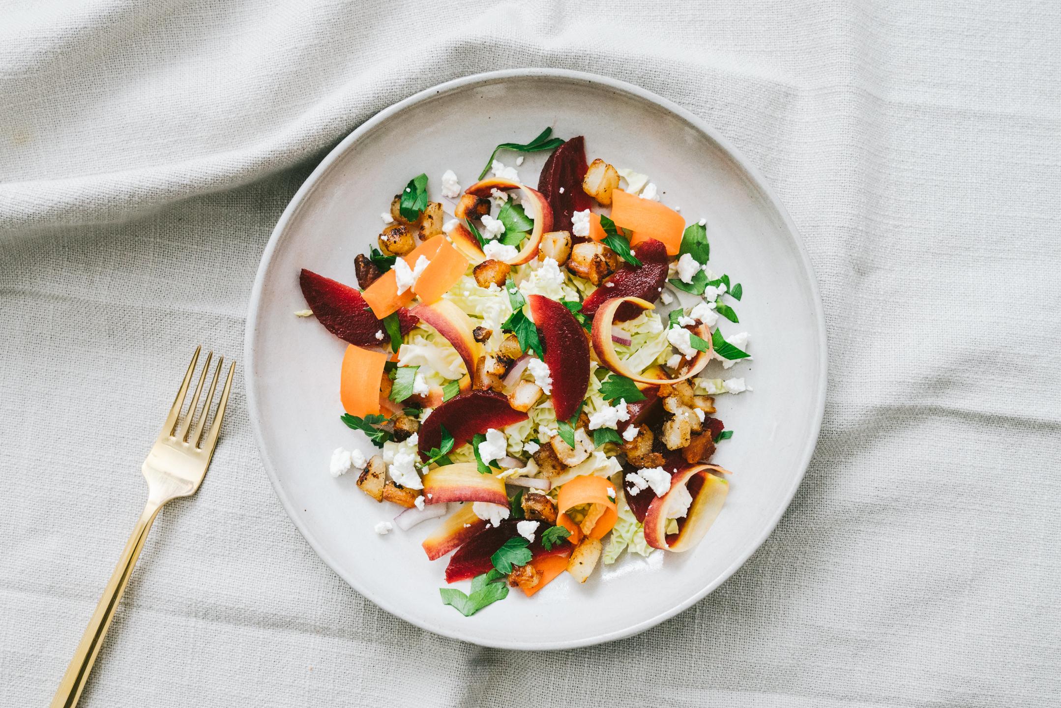 Winter Deconstructed Borscht Salad (But Better)